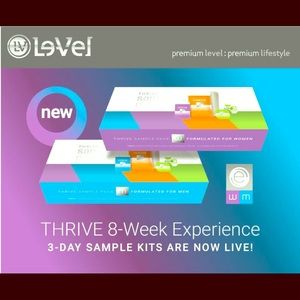 3 day sample kit of Thrive!!!